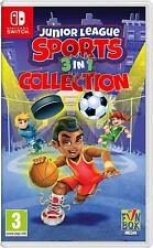 Junior League Sports 3-in-1 Collection Nintendo Switch Game
