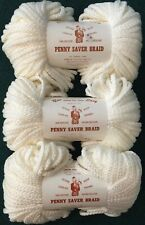 3 Center Pull Hanks Vintage Penny Saver Braid Macrame' Cord 6Mm