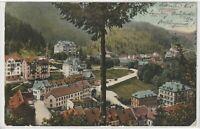 Ansichtskarte Triberg - Ortsansicht mit Häusern/Villen/Fachwerk - 1908