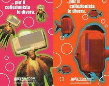 NUOVE MAGNETIZZATE GOLDEN 1238 - 1239 (C&C F 3316 F 3317) EUROPA CARD SHOW 2000