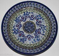 "Ceramika Artystyczna Plate Luncheon Salad Polish Stoneware 7 3/4"" Spychalska"