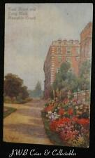 Old Postcard Of East Front And Long Walk, Hampton Court