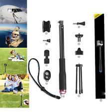 Selfie Stick Monopod Tripod Mount Kit for Gopro Hero 5 4/3+3/Xiaomi yi/Cellphone