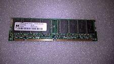 Memoria SDRAM Micron MT8LSDT864AG-10CY5 64MB PC100 100MHz CL2 168 Pin