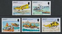 Jersey - 2005, Rescue Craft set - MNH - SG 1185/9