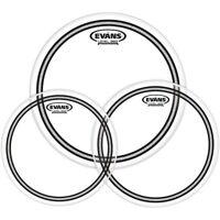 Evans EC2 SST Clear Drum Head Pack Standard - 12/13/16