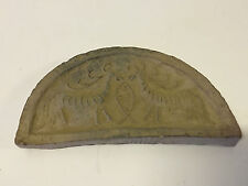 Antique Chinese Poss. Ancient Terra Cotta Temple Roof Tile Mythical Beasts Fish