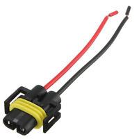 1x H11 H8 Headlight Fog Light Bulb Holders Connector Wire Plug Led Halogen 9CM