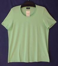 Samoon Shirt Gerry Weber Ausschnitt Satinpaspel Basic 96%Viskose 4%Elastan Gr.46