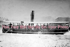DE 143 - Steam Boat 'Hercules', Warrington, Devon c1907 - 6x4 Photo