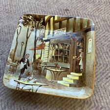 Vintage 1950's Small China Pin Tray with Advert for Bass Beer by Newhall
