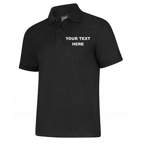 Personalised Embroidered Polo Shirt - XSmall up to 8XL*