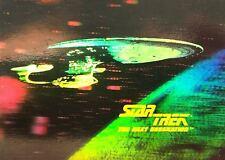 Lot of 10 Star Trek Hologram Cards #H2 1991 Impel Starship Enterprise 25th Ann