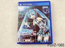 Project Diva f 2nd Japanese Import PS Vita PSVita Japan Region Free US Seller A