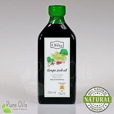 RAW GRAPE SEED OIL Cold Pressed, Ol'Vita 250 ml - Olej z pestek winogron
