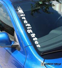 F80 Firefighter Frontscheibenaufkleber Feuerwehr Aufkleber Auto Fahrzeug Sticker