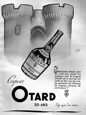 ▬► PUBLICITE ADVERTISING AD Cognac OTARD André Bayourst 1951