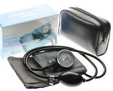 Professional Aneroid Sphygmomanometer Adult Cotton Cuff Blood Pressure Monitor