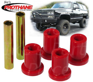 Prothane 7-801 Chevy/ GMC Pickup/Sub Front Frame Shackle Bushing Insert Kit 4WD