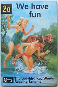 Vintage Ladybird Book – 2a We have fun – Key Words – Peter & Jane – Near to Fine