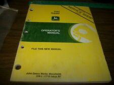 John Deere Werke Mannheim 2155 Tractor Operators Manual