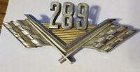 Ford 289 Fender Emblem Vintage Metal C50B16237A MUSTANG COMET FAIRLANE