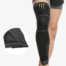 Knee Compression High Brace Support Stocking Leg Thigh Basketball Joint Sleeves