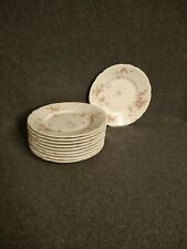 "Lot of 10 Imoges Theodore Haviland France 6 3/8"" Plate - China - Scalloped"