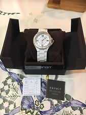 *** Esprit Collection Ceramic Damen Uhr EL101322F10 Neu mit Box !!! ** 269€ !!**