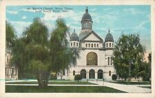 c1920 St Mary's Chapel, Notre Dame, South Bend, Indiana Postcard