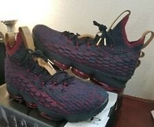 reputable site bfebb 26a49 Nike LeBron 15 XV New Heights Atomic Teal Black Red 897648-300 Men s Size 14