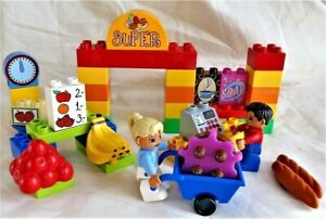 Lego Duplo 6137 - My First Supermarket - Complete Set - No Box, No Instructions