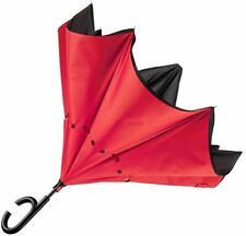 Ombrello Inverso Reversibile Antivento Con Apertura Scatto Al Contrario Pioggia