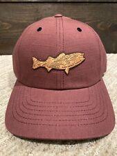 NEW High Desert Angler Fish Embroidered Adjustable Hat Cap - Richardson Outdoor