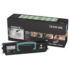 LEXMARK E450A11E E 450 NERO TONER ORIGINALE