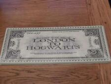 GOOD QUALITY HARRY* POTTER METAL SIGN WALL PLAQUE TRAIN LONDON TO HOGWARTS 40X15