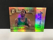 Adrian Dantley 2012-13 Panini Gold Marks of Gold Authentic Signature 58/99