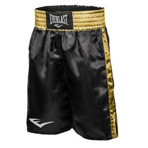 Everlast Boxing / MMA Fight Shorts - Training Black/Gold - Size Small