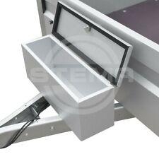 STEMA Deichselbox inkl. Befestigungsmaterial für Anhänger Staubox Metallbox