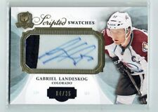 13-14 UD The Cup Scripted Swatches  Gabriel Landeskog  /35  Auto  Patch