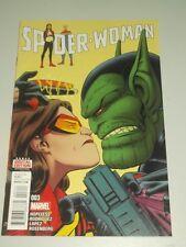 SPIDERWOMAN #3 MARVEL COMICS
