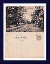 CANADA NOVA SCOTIA HANTSPORT TOWN CENTER DIVIDED BACK POSTCARD CIRCA 1907