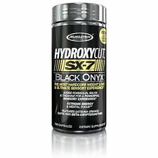 Sport Capsules MuscleTech Sx7 Black Onyx Extreme Energy Mental Focus 160 Count