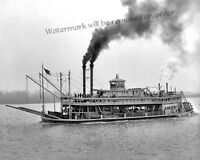 Photograph of the Mississippi Steamship America Year 1906  8x10