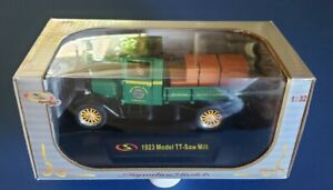 1923 Model TT-Saw Mill Signature Models 1:32 Scale Diecast New In The Box