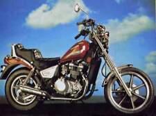 Kawasaki 454 LTD ( EN450 ) SERVICE , Owner's & Parts Manual CD