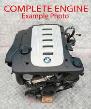 BMW Série 7 E65 Vide Moteur 730d M57n 306d2 204hp avec 65k Miles Garantie