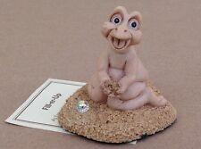 Krystonia Dragon figurine Fill-Er-Up Lonzo's baby statue paper World of, Panton