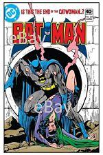 BATMAN 324 COVER PRINT DC Catwoman