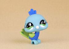 LITTLEST PET SHOP BLUE PEACOCK GREEN EYES #463